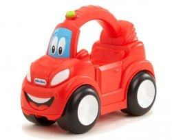 LT Pojazd z Uchwytem Czerwone Auto