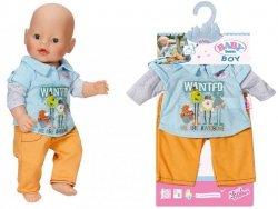 Baby Born Ubranko Kolekcja Chłopięca Spodnie Żółt.
