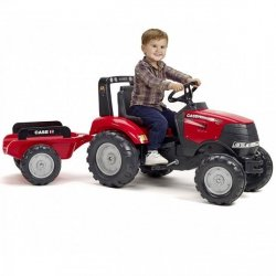 FALK Traktor CASE IH PUMA 240CVX z Przyczepą