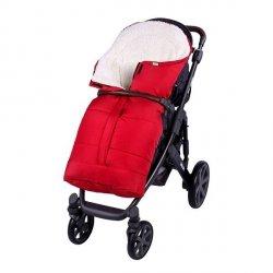 Lulando Zimowy śpiwór do wózka dla dzieci PIK czerwony