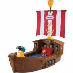 LITTLE TIKES Łóżko Statek Piracki -brązowy