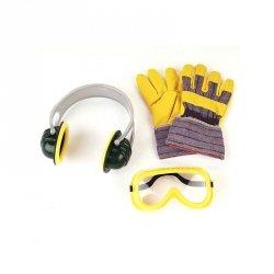 Bosch zestaw akcesoriów gogle rękawice słuchawki Klein