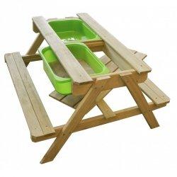 Sunny Drewniany Podwójny Stół