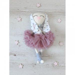 Maskotka personalizowana  króliczek baletnica Melisa