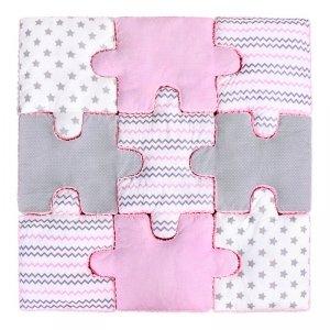 LULANDO Puzzle - Różowy