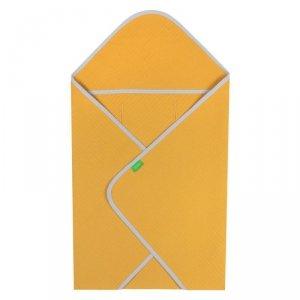 LULANDO Otulacz wafel do nosidła Yeti - Żółty