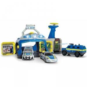 Dickie SOS - Policyjna jednostka SWAT 3 Samochody  + Policyjny Lizak Gratis!