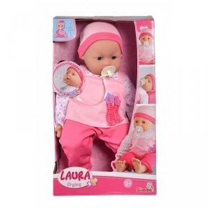 SIMBA Lalka Laura Płacząca 46cm Bobas