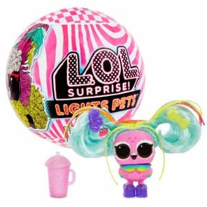 L.O.L. SURPRISE - Świecące Zwierzątko z włosami LOL Lights Pets