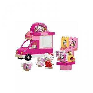 Klocki Big Bloxx Hello Kitty Lodziarnia + figurka 26 elem.