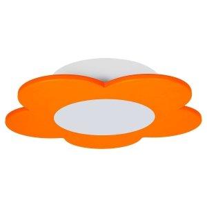 Lampa dziecięca FIORE LED pomarańczowa
