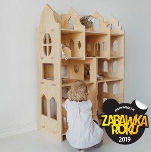 Parawan - Domek dla lalek 4w1