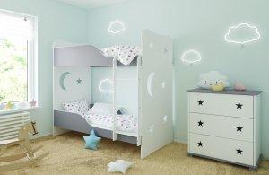 Łóżko piętrowe STARS różne kolory