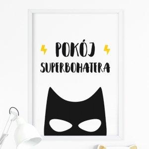 Plakat Superbohater POKÓJ P065