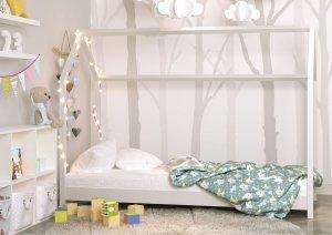 Łóżko dziecięce BELLA Domek biały