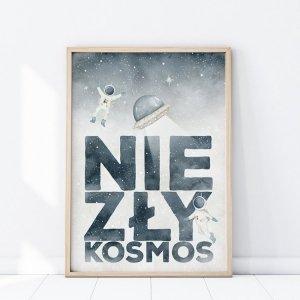 Plakat Kosmos NIEZŁY KOSMOS P314