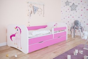 Łóżko dziecięce JEDNOROŻEC różne kolory 180x80 cm