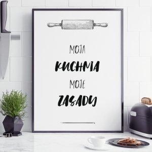 Plakat kuchenny MOJA KUCHNIA P089