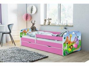Łóżko dziecięce SAFARI 180x80 różne kolory