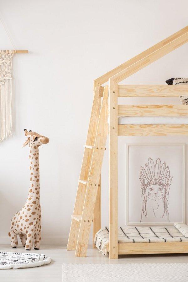 Łóżko dziecięce piętrowe DOMEK Mila DMPB różne rozmiary
