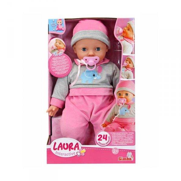 Lalka Laura gaworząca Simba