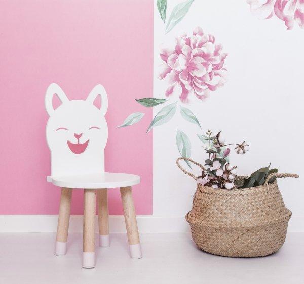 Krzesełko dla dziecka kotek