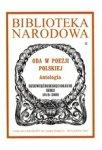 Oda w poezji polskiej. Antologia