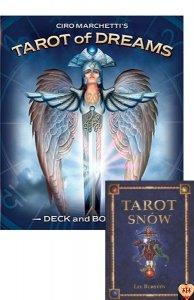 Tarot of Dreams (Tarot Snów) Ciro Marchetti US Games książka PL