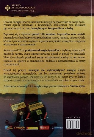 Encyklopedia szlachetnych minerałów.  Scott Cunningham