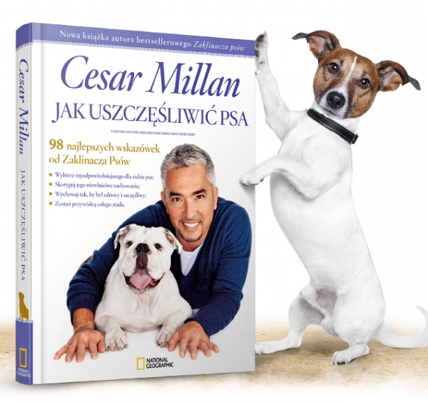 Jak uszczęśliwić psa.  Cesar Millan