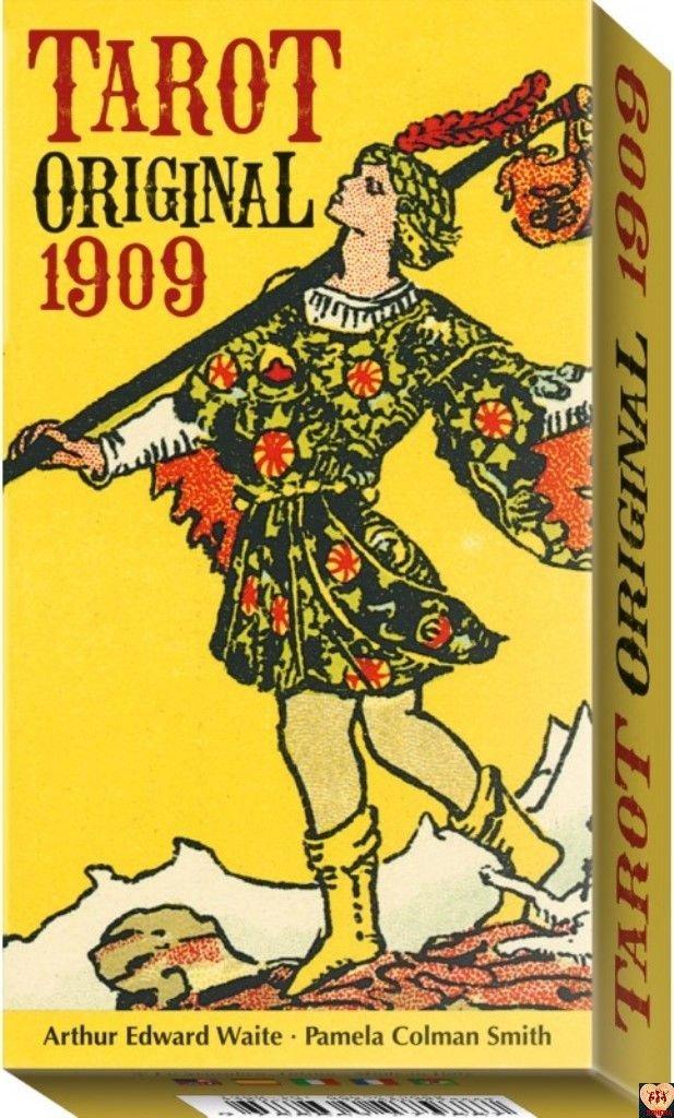 Tarot Original 1909 - Rider Waite Tarot, instr.pl