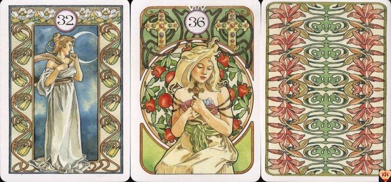 Art Nouveau Lenormand (nowe wydanie) instr.PL