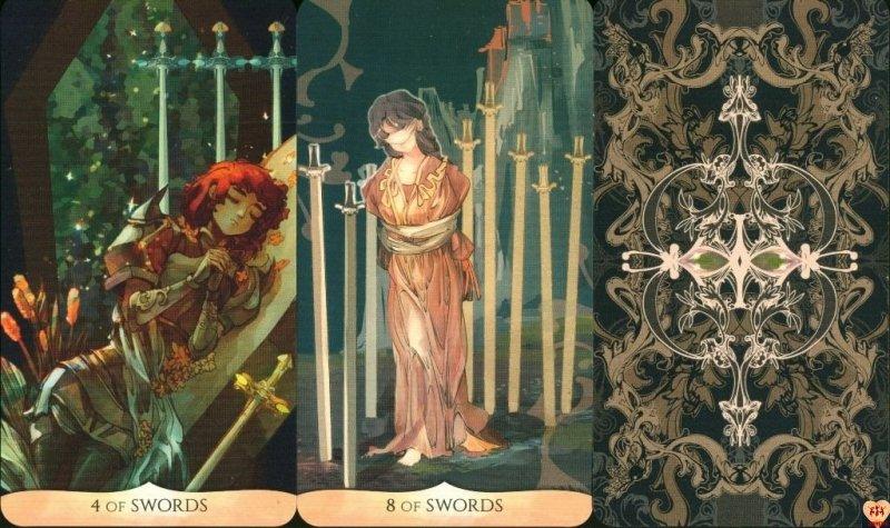 Traditional Manga Tarot, instr.pl