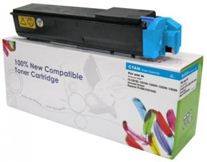 Toner Cartridge Web Cyan Kyocera TK500/TK510/TK520 zamiennik TK-500C/TK510C/TK520C