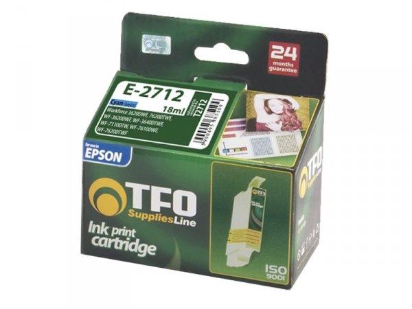 Tusz TFO E-2712 zamiennik do Epson T2712 XL Cyan