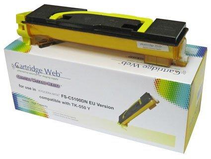 Toner Cartridge Web Yellow Kyocera TK550/TK552 zamiennik TK-550Y