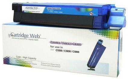 Toner Cartridge Web Cyan OKI C5650 zamiennik 43872307