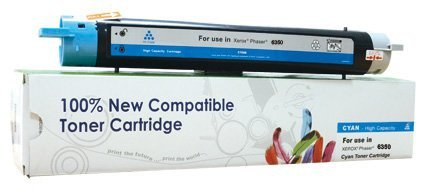 Toner Cartridge Web Cyan Xerox 6350 zamiennik 106R01144