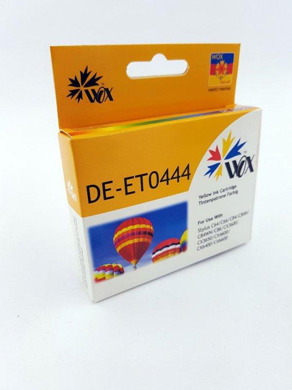 Tusz Wox Yellow EPSON T0444 zamiennik C13T04444010