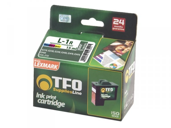 Tusz TFO L-1R zamiennik do Lexmark 1 Color 18CX781
