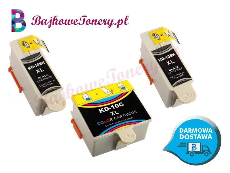 Zestaw tuszy Kodak DK-10 Zabrze www.BajkoweTonery.pl
