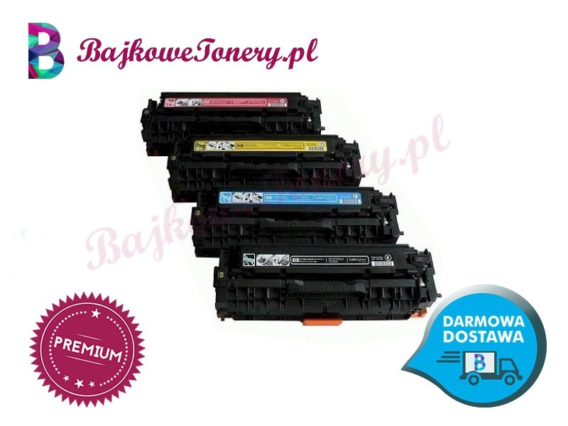 Toner premium zamiennik do hp cc533a, 33a, czerwony, cp2025, cm2320