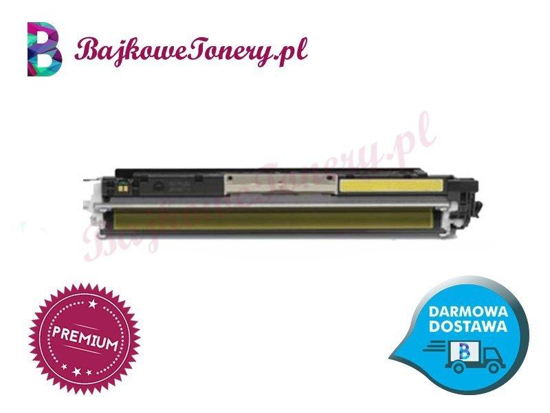 Toner premium zamiennik do hp ce312a, żółty m175a, cp1025