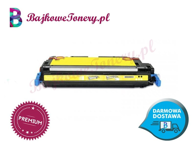 Toner premium zamiennik do canon crg711y, żółty, lbp 5300, mf 9130