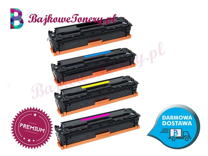 Toner premium zamiennik do hp ce320a, 20a, czarny, cm1415, cp1525