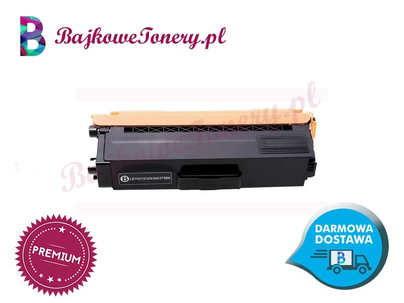 Toner premium zamiennik do brother tn-325bk czarny, hl-4140cn, mfc-9970cdw