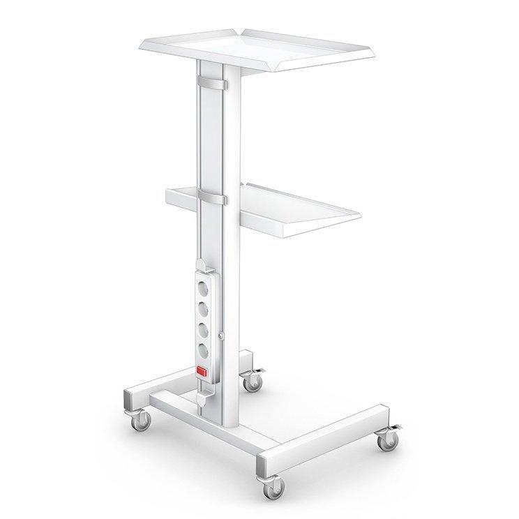Stolik Pod Aparaturę Eco 2 Z Listwą Zasilającą Stoliki Pod Aparaturę Stoliki Medyczne Sprzęt Meble Medyczne