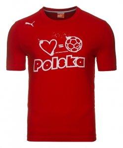 PUMA KOSZULKA T-SHIRT POLSKA FOOTBALL TEE 740453 07
