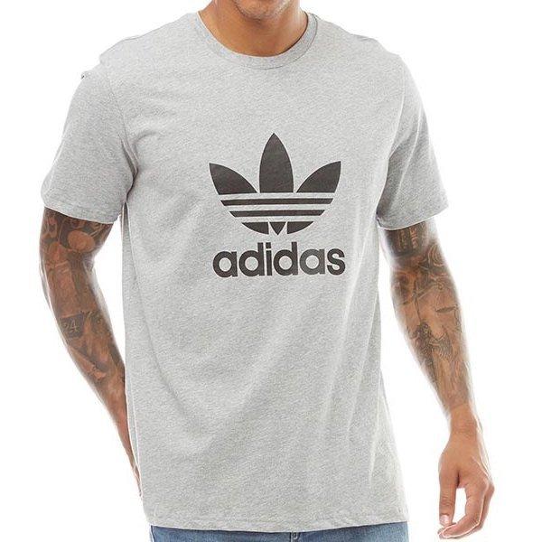 Adidas Originals szara koszulka t shirt męski Trefoil CW0710