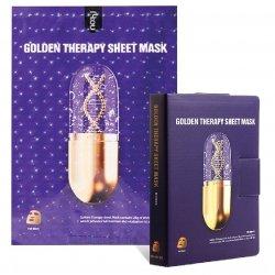 Maska maseczka w płacie - złota terapia